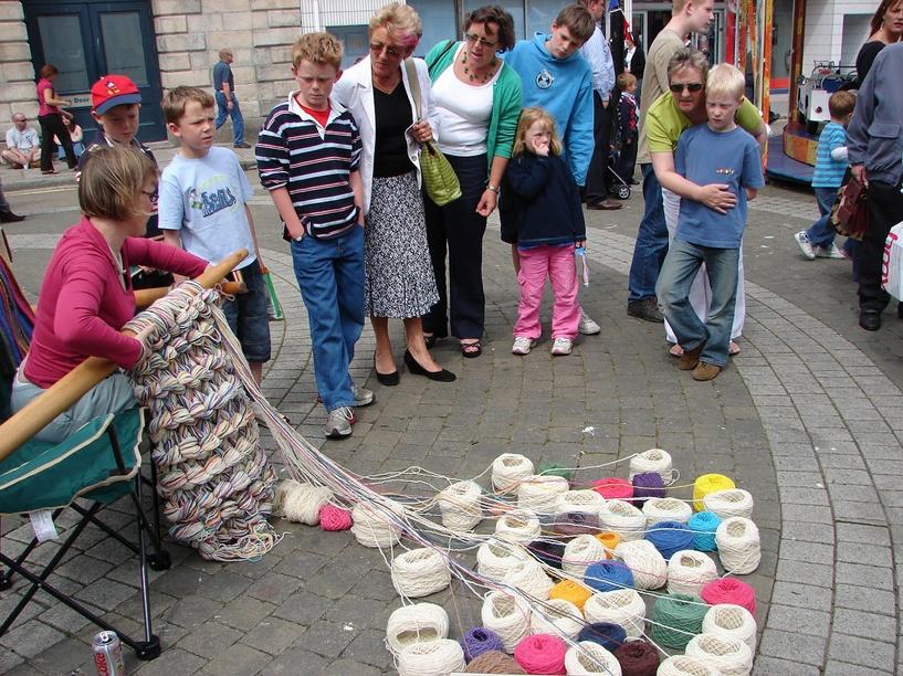 Рассказовцы отметят всемирный День вязания на публике