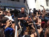Алексея Навального отпустили под подписку о невыезде