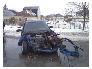 За неделю в области произошло 18 ДТП с пострадавшими