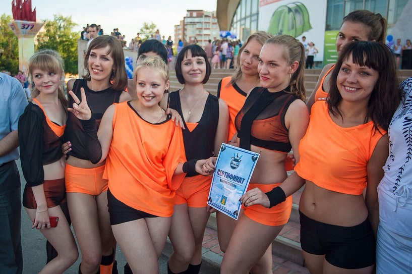 «Мириданс» покажет «флешмоб» на конкурсе «Танцуй, Тамбов!-2»