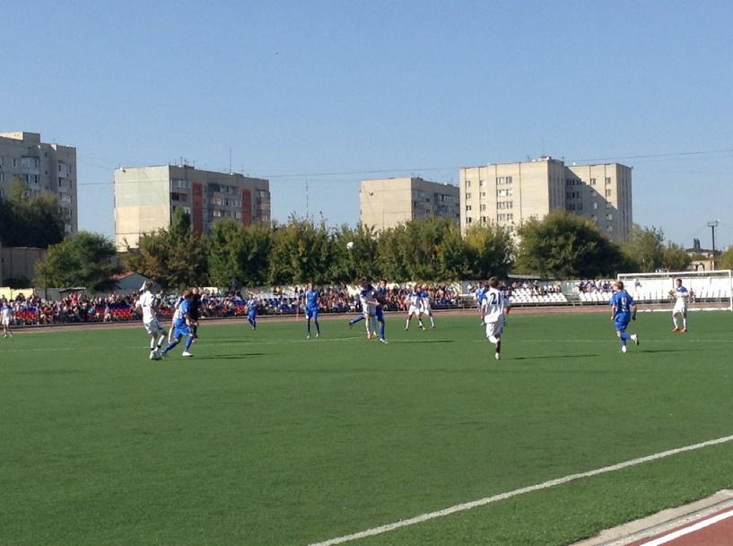 В Тамбове состоялся первый в истории студенческий Чемпионат по футболу