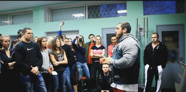 Народная новость: мастер спорта рассказал тамбовчанам о бодибилдинге
