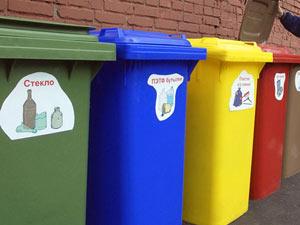 Тамбовчан учат выбрасывать мусор по-американски