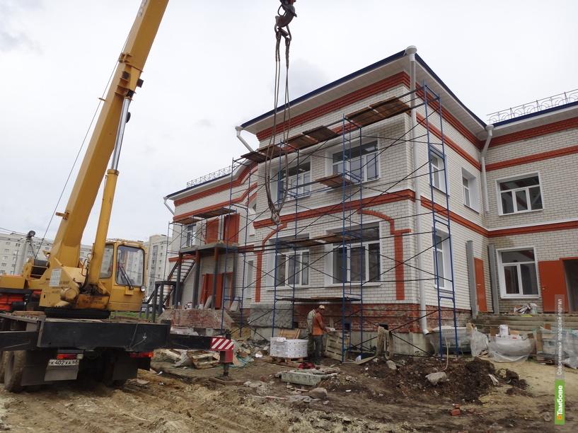 Темпы строительных работ на Тамбовщине выросли