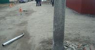Моршанский мотоциклист врезался в столб