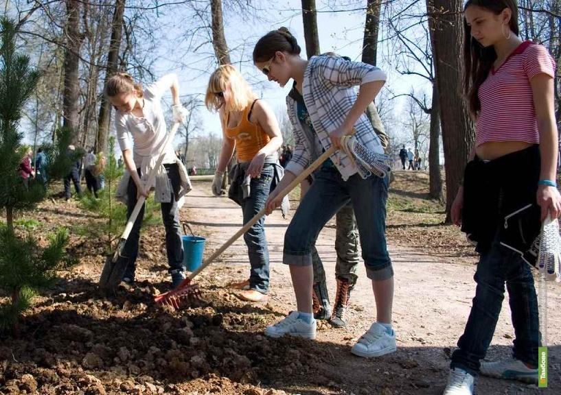 Тамбовские школьники посадят именные деревья