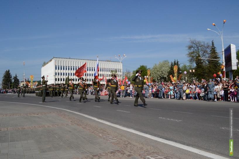 День Победы в Тамбове будет теплым