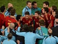 Сборная Испании вышла в финал Евро-2012