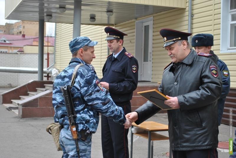 Тамбовские полицейские вернулись из полугодовой командировки