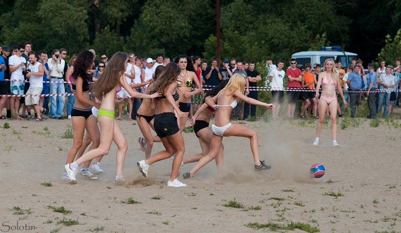 Тамбовские модели сыграют в футбол