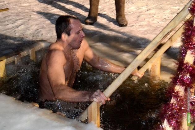 В Крещение на Тамбовщине организуют 61 место для купания