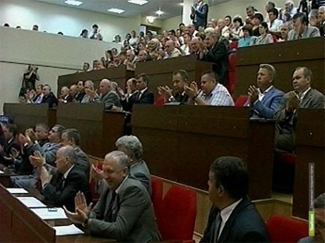 Экс-спикер тамбовского парламента стал первым заместителем председателя нового заксобрания