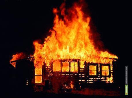 В огне погибли два маленьких тамбовчанина