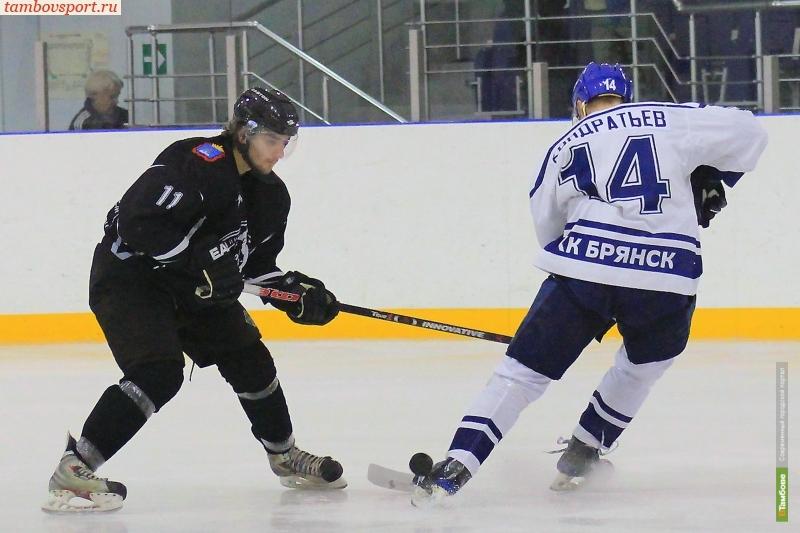Хоккеисты «Тамбова» потерпели второе поражение на выезде