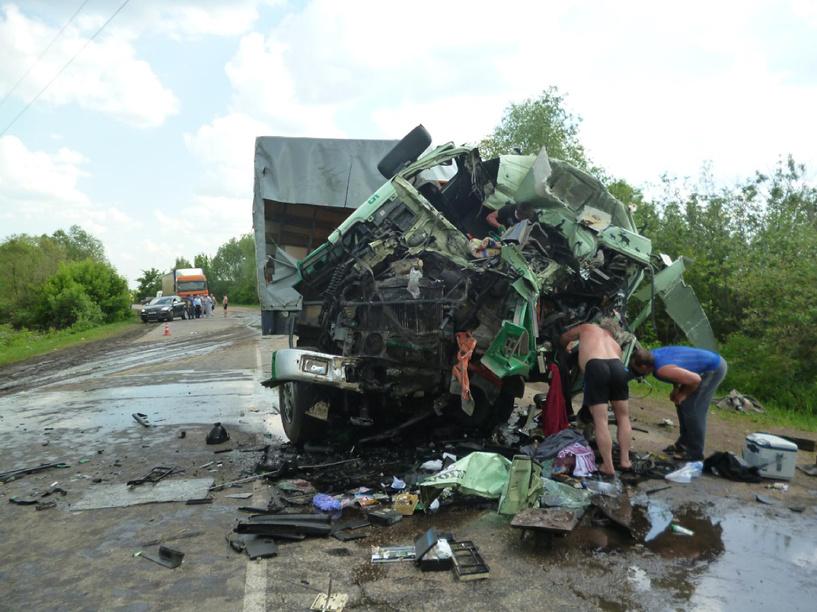 За неделю в ДТП на Тамбовщине погибли два человека
