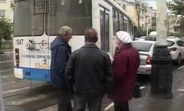 """В Тамбове за день в одном и том же месте 2 """"тралика"""" попали в ДТП"""