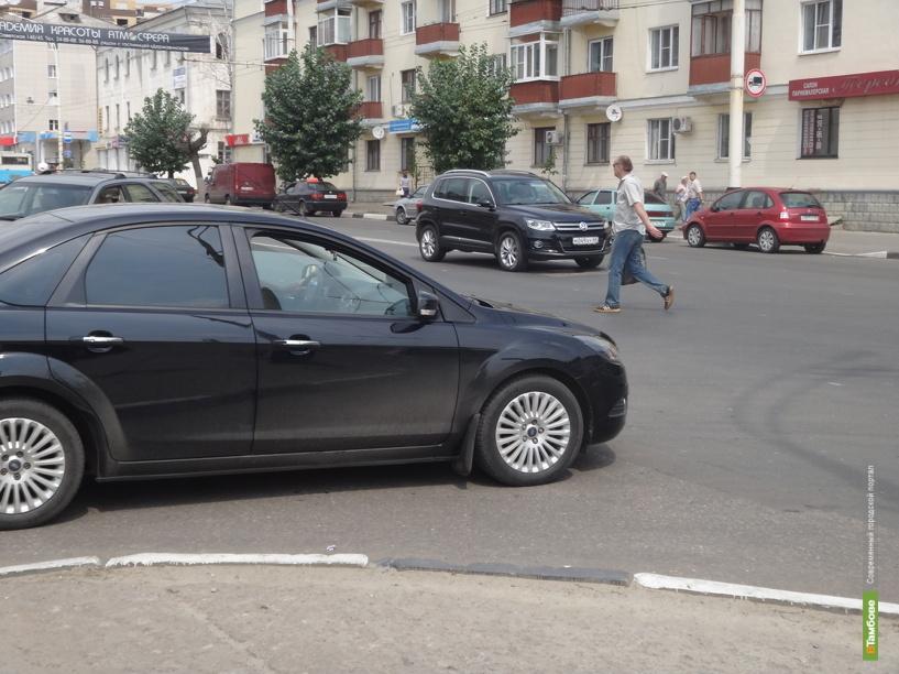 Тамбовчане требуют еще один пешеходный переход