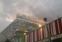 В «Останкино» произошел пожар
