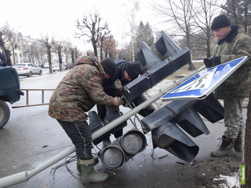 Соблюдение нового «пешеходного» ГОСТа влетит Тамбову в копеечку