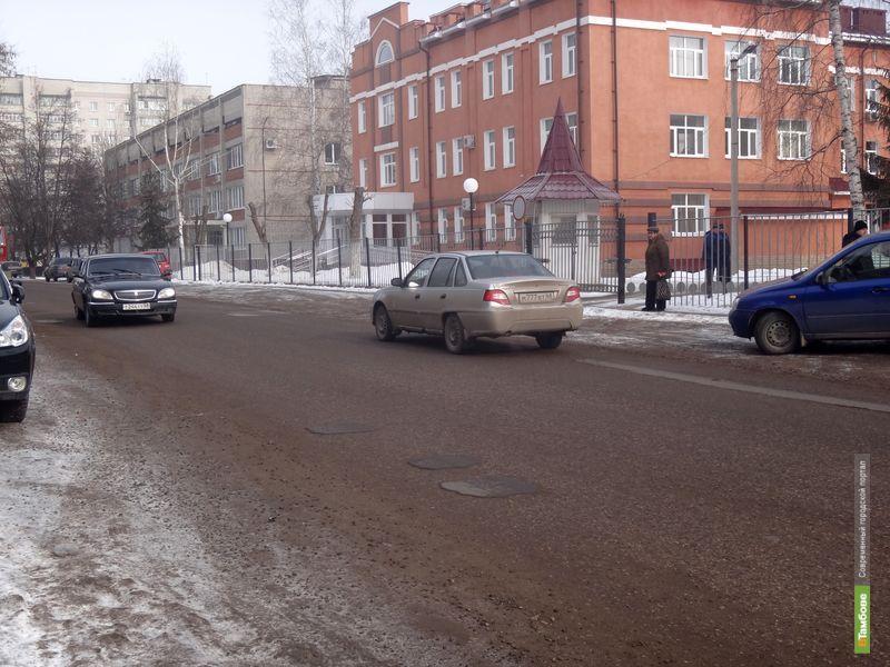 Тамбовчане недовольны дорогами в областном центре