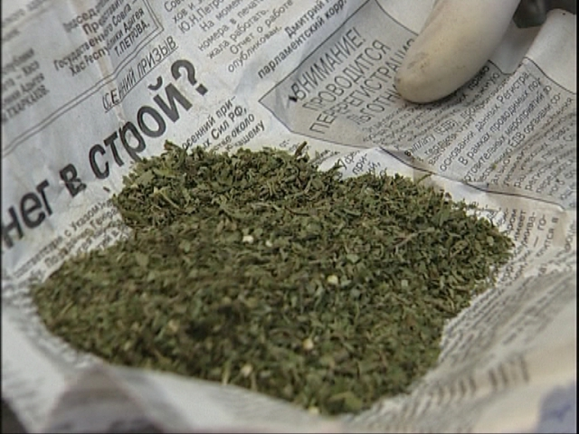 Тамбовчанин хранил наркотики в печи