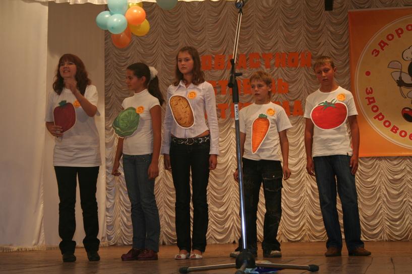 Юные тамбовчане приняли участие в фестивале «Здоровая еда — здоровое поколение»
