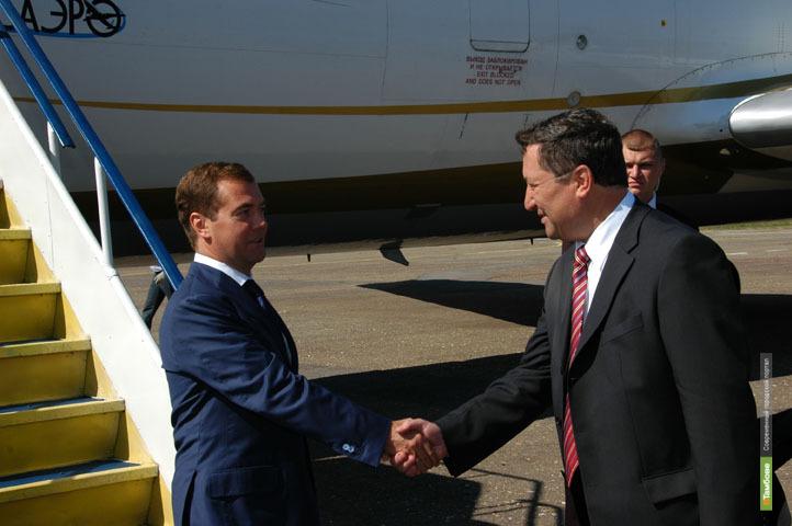 Дмитрий Медведев посетит в Тамбове дом, построенный для ветеранов