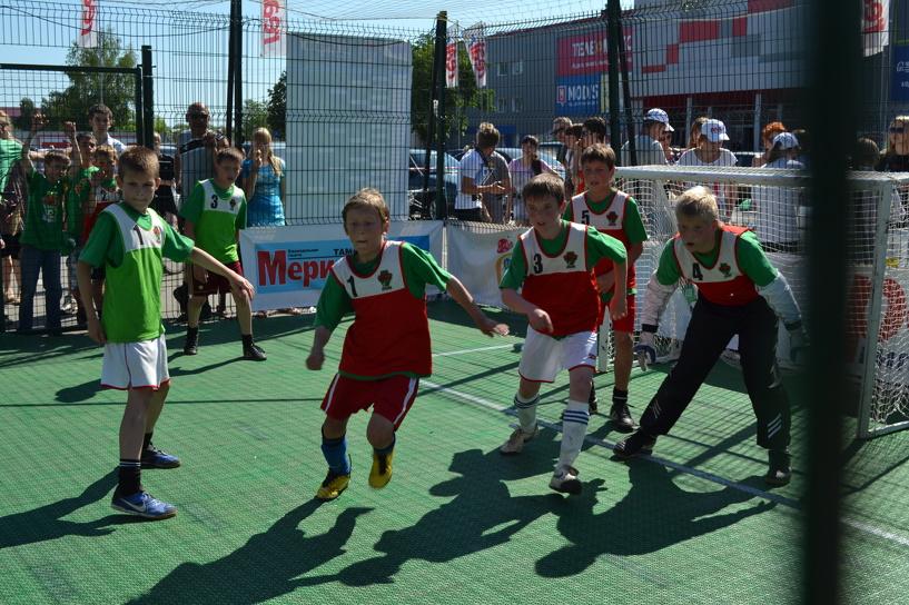 «Академия футбола-2003» победила в региональном этапе «Локобола-2014»