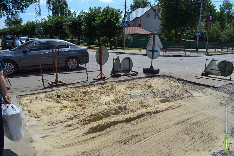На улице Гастелло до сих пор не ликвидировали последствия коммунальной аварии