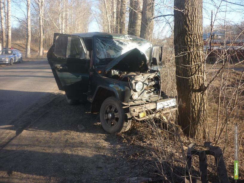 В Мичуринске водитель УАЗа разбился насмерть