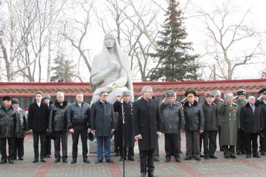 В Тамбове прошёл митинг в День защитников Отечества