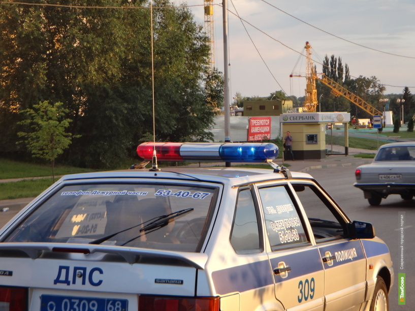 В Уваровском районе по вине малолетнего скутериста произошло ДТП