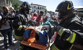 Количество жертв из-за землетрясения в Италии превысило 200 человек