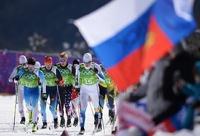 Российские лыжники завоевали серебро в командном спринте