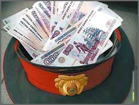 Бывший тамбовский автоинспектор заплатит 120 тысяч рублей за взятку