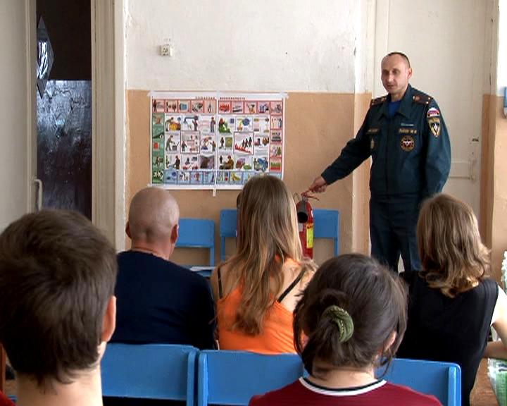 В Рассказово беженцам из Украины рассказали о профилактике пожаров