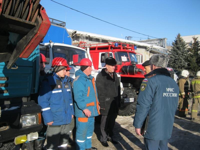 Спасатели проверили готовность техники к ликвидации последствий паводка