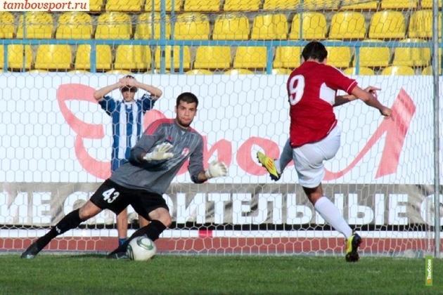 Тамбовский «Спартак» проиграл в очередной раз