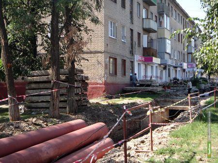 В Тамбове жители Мичуринской остались без горячей воды