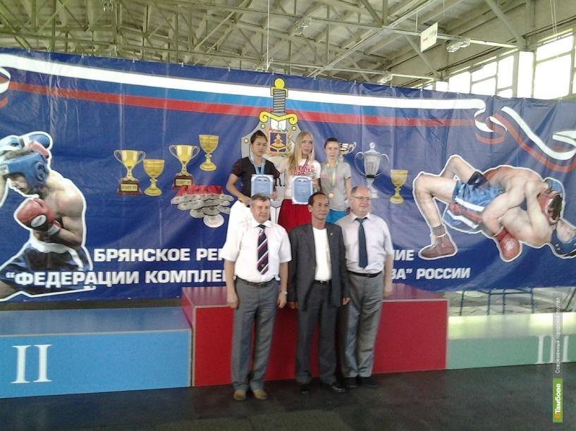 Тамбовчанка победила в международном турнире по комплексному единоборству