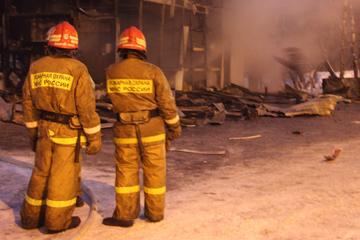 При пожаре погиб 77-летний тамбовчанин