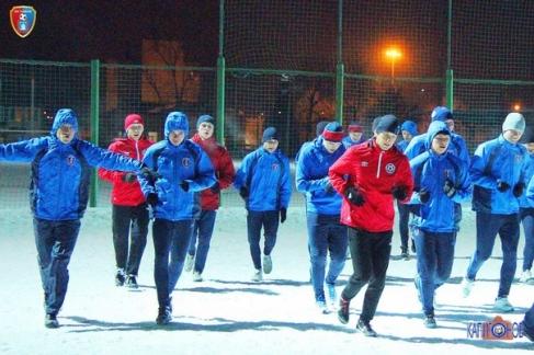 Тамбовские футболисты отправились на сборы в Крымск