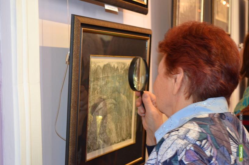 В Тамбове открылась выставка уникальных офортов
