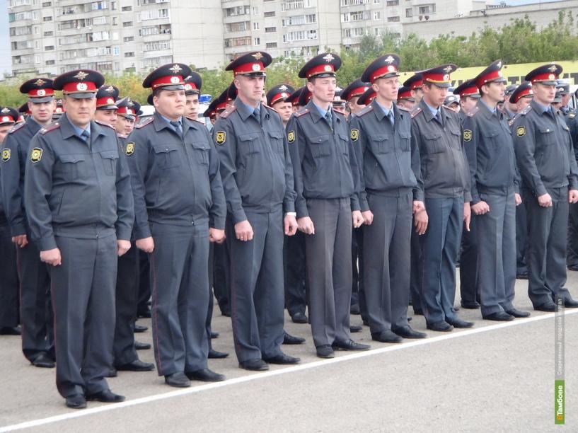 Тамбовские полицейские станут героями плакатов