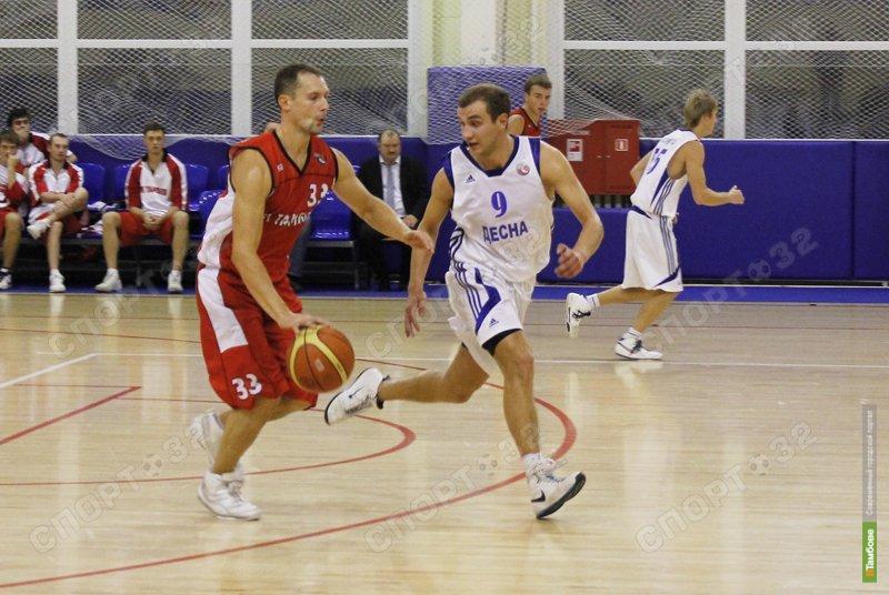 Баскетболисты Тамбова открыли сезон победой
