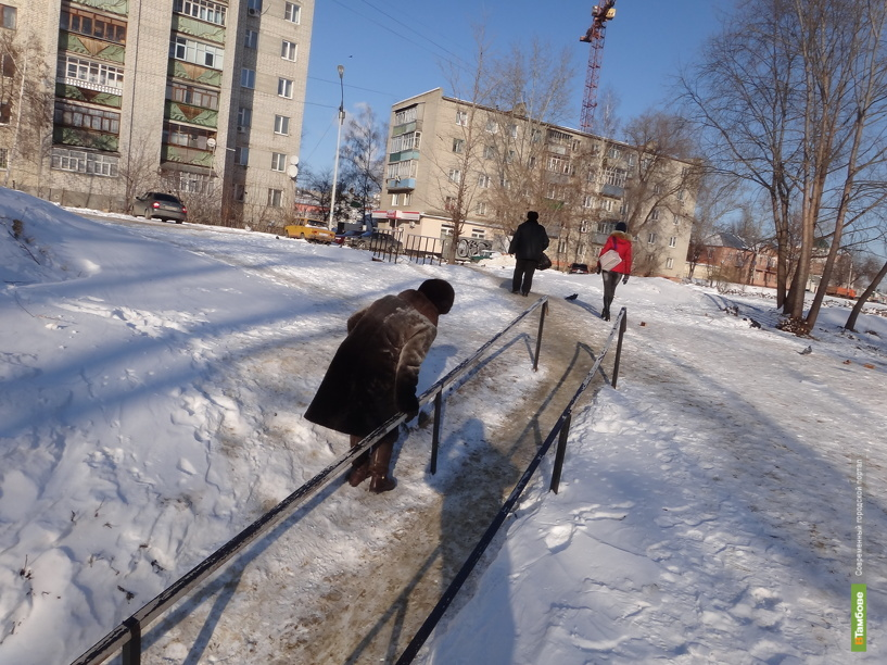 Тамбовчане осваивают навыки конькобежцев