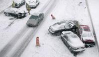 Скользкие дороги стали причиной 63 ДТП в Тамбове