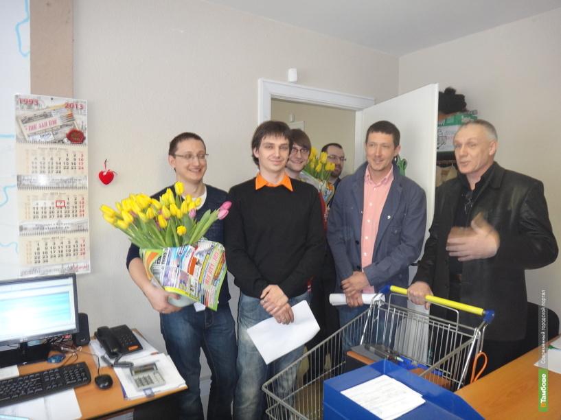 Портал ВТамбове отметил 8 марта весело и нестандартно
