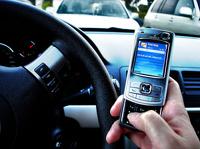 В скором времени водителей будут штрафовать за SMS за рулем