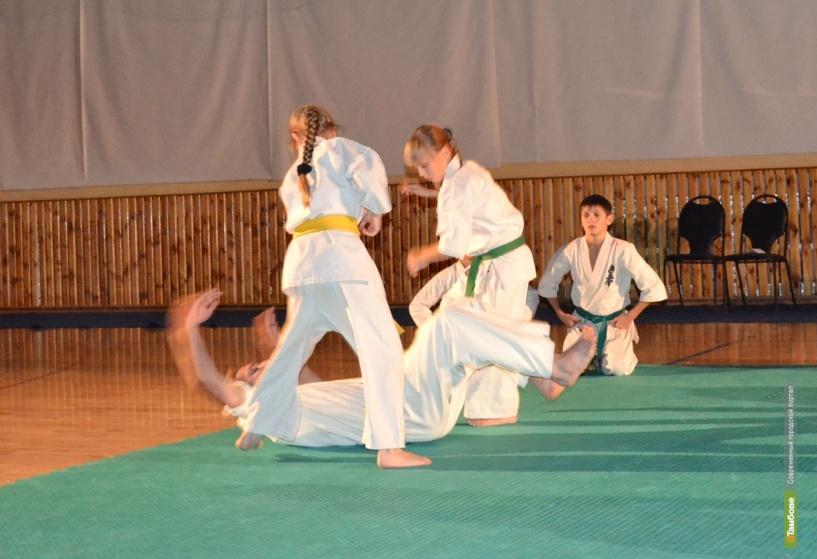 Каратисты из Тамбова отвоевали три золотых медали